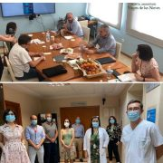 PARTICIPACION EN ENCUENTRO DIGITAL EN HOSPITAL VIRGEN DE LAS NIEVES